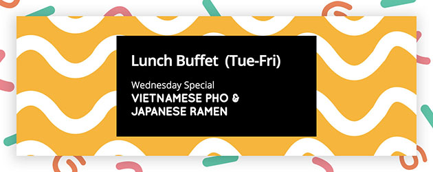 Wednesday Special - Noodle Bar